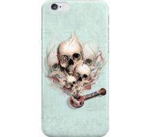Faded Youth Smoke skulls. iPhone Case/Skin