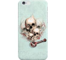 Faded Youth Smoke skulls. iPhone Case/Skin