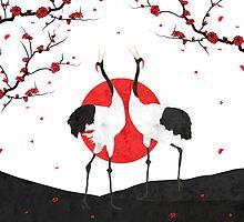 Love's Dance - Spring Version by Paula Belle Flores