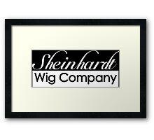 30 Rock Sheinhardt Wig Company Framed Print