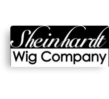 30 Rock Sheinhardt Wig Company Canvas Print