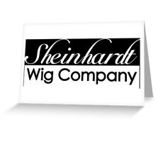 30 Rock Sheinhardt Wig Company Greeting Card