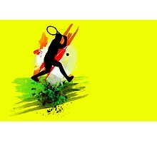 Tennis (or Squash) player Photographic Print