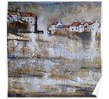 Shimmering Staithes Poster