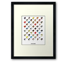 State Birds [Climate Change Tribute] Framed Print