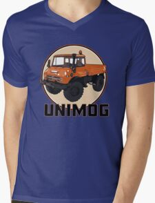 UNIMOG Mens V-Neck T-Shirt