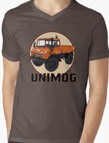 UNIMOG Mens V-Neck T-Shirt