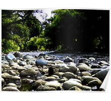 The River Of Rocks Poster