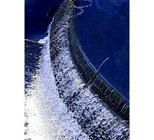 Spillway In Cuenca Photographic Print