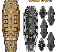 More Wargaming plans of ships by Radwulf