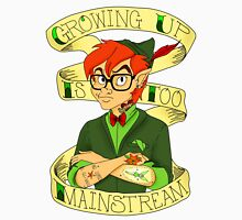 Growing Up is Too Mainstream Men's Baseball ¾ T-Shirt