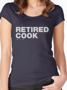 Retired Cook Women's Fitted Scoop T-Shirt