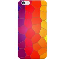 Mosaic tiles in colour. iPhone Case/Skin
