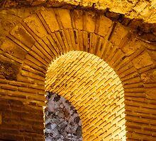 Golden Roman Arch by Robert Kelch, M.D.
