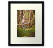Southern Shade Framed Print