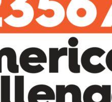 Numerically Challenged Sticker