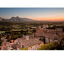 Provence at dusk Photographic Print