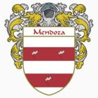Mendoza Coat of Arms/Family Crest by William Martin
