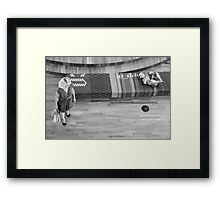 Mom, son Framed Print
