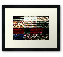 Socks, or art? Framed Print