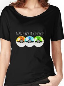 Pokemon - Make Your Choice Women's Relaxed Fit T-Shirt