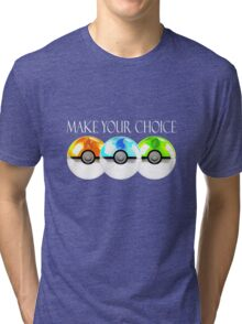 Pokemon - Make Your Choice Tri-blend T-Shirt