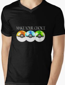 Pokemon - Make Your Choice Mens V-Neck T-Shirt