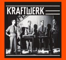 Kraftwerk Mensch-Maschine/Man-Machine t-shirt by fodderstompf