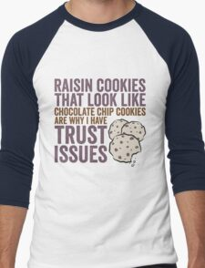 Raisin Cookies Men's Baseball ¾ T-Shirt