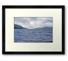 Loch Ness from Dores Framed Print