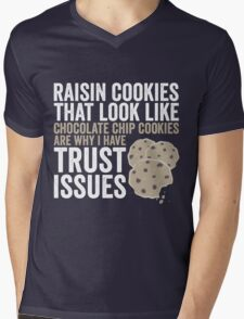Raisin Cookies Mens V-Neck T-Shirt