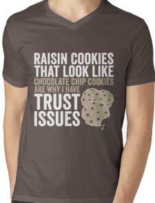 Raisin Cookies Mens V-Neck T-Shirt