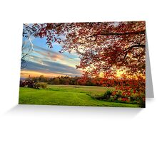 Stockton Springs, Maine Greeting Card