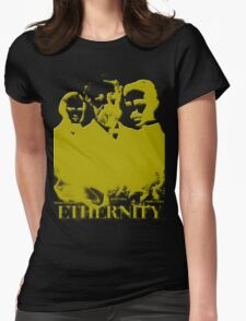 Ethernity in gold Womens Fitted T-Shirt