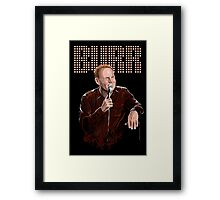 Bill Burr - Comic Timing Framed Print