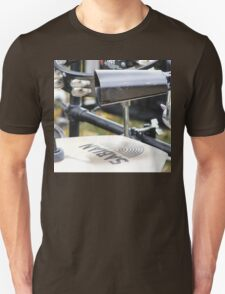 Percussion Rack with Cowbell and Cymbals Unisex T-Shirt