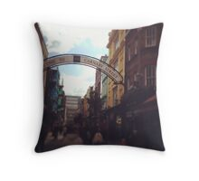 Carnaby Street Throw Pillow