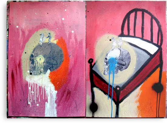 DEATH IS ALL AROUND by Alvaro Sánchez