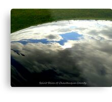 Spirit Sky Reflections Metal Print