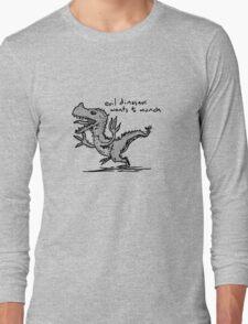 Evil Dinosaur Wants to Munch T-Shirt