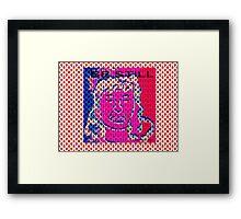 Be Still Digital Collage Framed Print