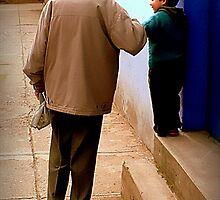 Grandfather in Spanish is Abuelo by paintingsheep