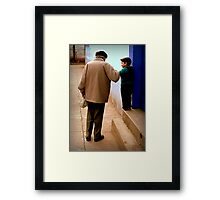 Grandfather in Spanish is Abuelo Framed Print