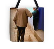 Grandfather in Spanish is Abuelo Tote Bag