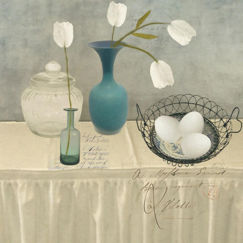 The Blue Vase by Sarah Jarrett
