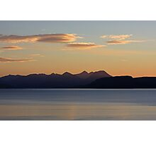 Cuillin Sunset 4 Photographic Print
