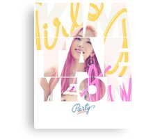 Girls' Generation (SNSD) Taeyeon 'Party' Canvas Print