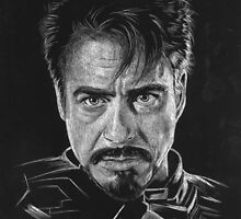 Tony Stark Ironman by LKBurke29
