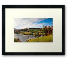Day's End - West Virginia Framed Print