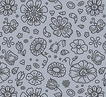 floral pattern by BoYusya